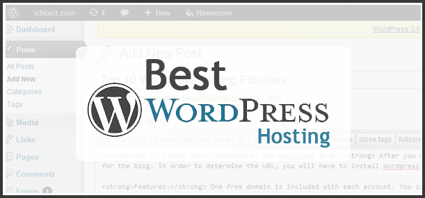 Top 10 WordPress Hosts